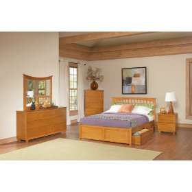 Brooklyn Queen Bed Frame   Raised Panel Footboard