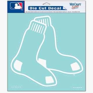 MLB Boston Red Sox Decal   8 X 8 Die Cut Sports
