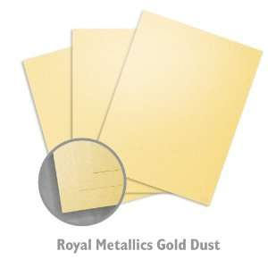 Royal Metallics Gold Dust Paper   100/Carton Office