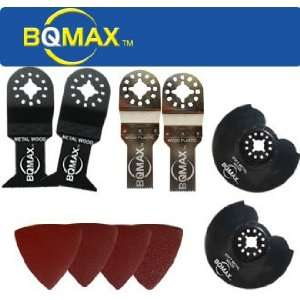 BQMAX   26 Piece Variety Pack for Dremel Multi Max, Ryobi