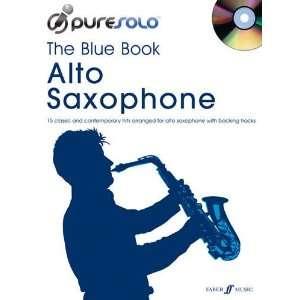 Blue Book Alto Saxophone (Pure Solo Book & CD
