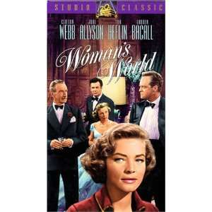 Womans World [VHS] Van Heflin, Lauren Bacall, Clifton
