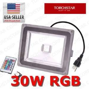 30W RGB multi color Super Bright High output LED outdoor Flood Light