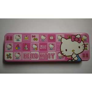 Charming Pink Hello Kitty Pencil Box