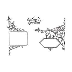 Unmounted Rubber Stamp Set   Todays Special Arts, Crafts & Sewing