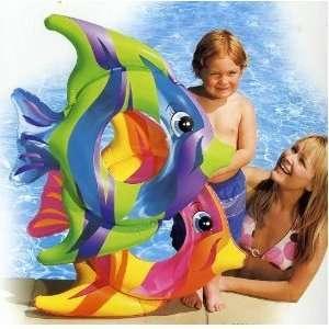 Intex Tropical Fish Inflatable Swim Ring (Yellow, Orange