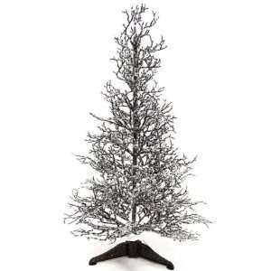 Good Tidings 1827 Tree Tabletop Pencil Twig Iced Glitter
