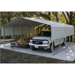 Building Systems 30 x 11 ft Type 2 Truss Carport Home Improvement