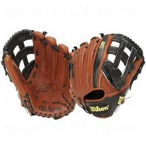Wilson A2K Outfielders Baseball Glove   Left Hand Throw
