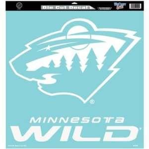 Wincraft Minnesota Wild 18x18 Die Cut Decal   Minnesota Wild 18 in
