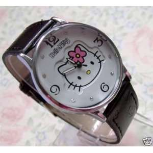 Hello Kitty Ladies Leather Quartz Watch
