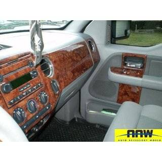 FORD F 150 F150 INTERIOR WOOD DASH TRIM KIT SET 2001 2002