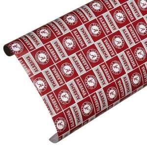 Alabama Crimson Tide Spirit Block Wrapping Paper