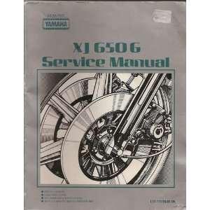 Yamaha XJ650G Service Manual Yamaha  Books