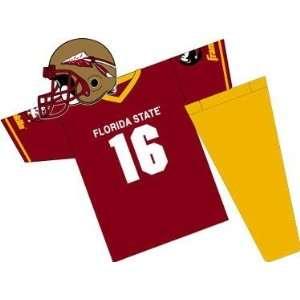 Florida State Seminoles Youth NCAA Team Helmet and Uniform Set (Medium