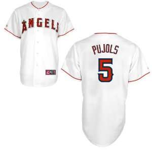 Angels Albert Pujols Home Replica Youth Baseball Jersey by Majestic