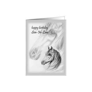 Whispering Winds Son In Law Happy Birthday Card