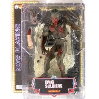 Dog Soldiers: Werewolf (Bloody, Grey) Action Figure