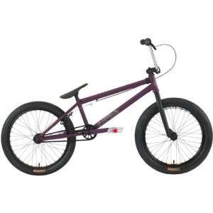 Garrett 2011 BMX Bike Bicycle TRICK BIKE EggPlant