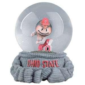Treasures Ohio State Buckeyes Musical Snow Globe Sports