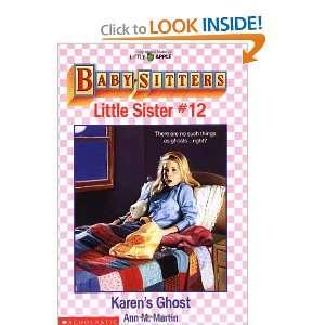 Karens Ghost (Baby Sitters Little Sister #12) (Little