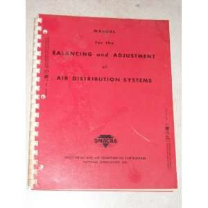 Balancing and Adjustment of Air Distribution Systems SMACNA Books