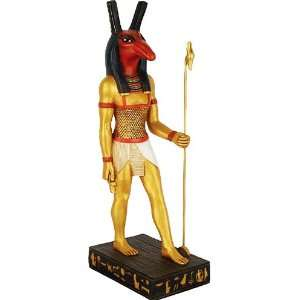 Seth God of Wind Egyptian Statue   Large   E 216GP