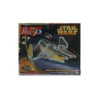 Star Wars 3 D Jedi Starfighter Puzzle Toys & Games