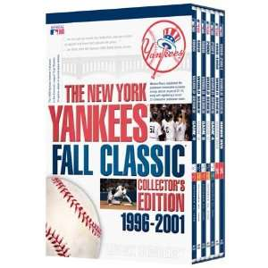 New York Yankees Fall Classic Collectors Edition 1996 2001 DVD Set