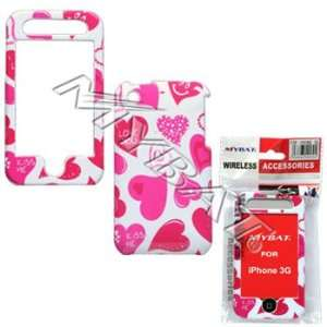 Apple I Phone 3g Plastic Case   Love Kiss