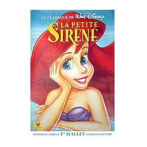THE LITTLE MERMAID (ARIEL   FRENCH ROLLED) Movie Poster