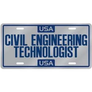 New  Usa Civil Engineering Technologist  License Plate