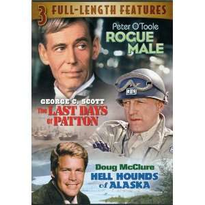 ROGUE MALE Peter OToole THE LAST DAYS OF PATTON George C. Scott HELL