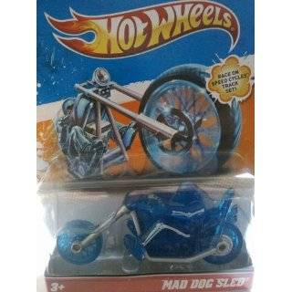 Hot Wheels Speed Cycles Mad Dog Sled