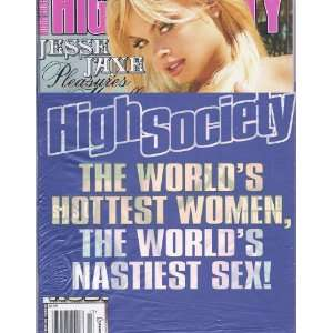 HIGH SOCIETY (AUGUST 2005): HIGH SOCIETY MAGAZINE: Books