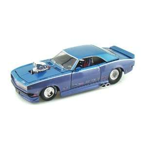 1968 Chevy Camaro Z/28 1/24 Aqua over Blue: Toys & Games
