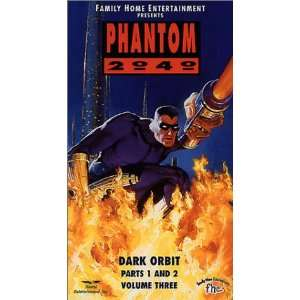Phantom 2040: Dark Orbit 1 & 2 [VHS]: Scott Valentine