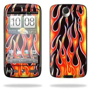 Desire Smart Phone Cell Phone   Hot Flames Cell Phones & Accessories