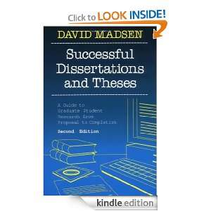 Writing a Successful Thesis or Dissertation: Tips and Strategies for ...