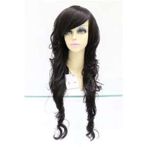 Long Length High Temperature Resistance Fibre Curly Hair Wig Beauty