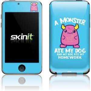 Skinit A Monster Ate My Homework Vinyl Skin for iPod Touch