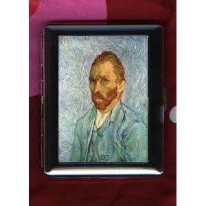 Artist Vincent van Gogh ID CIGARETTE CASE Self Portrait