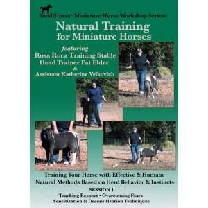 Natural Training for Miniature Horses Session I Pat