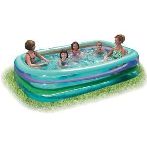 Summer Escapes 120x72 Inflatable Family Pool Toys & Games