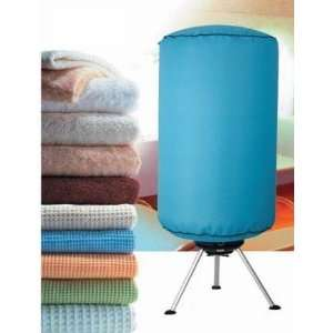 CLOTHES DRYER PORTABLE ELECTRIC AIRER/ SAVE ENERGY BLUE .co.uk