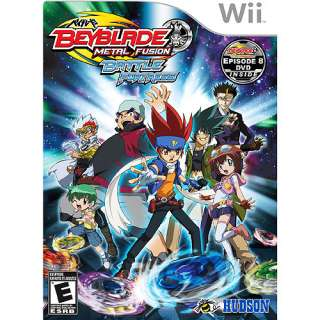 BeyBlade: Metal Fusion   Battle Fortress (Wii): Games