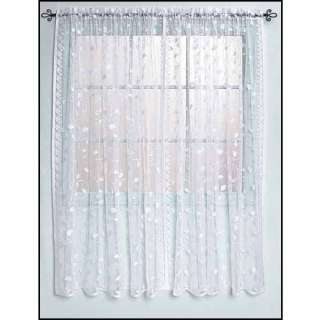 Commonwealth Scroll Lace Curtain Panels   Save 90%