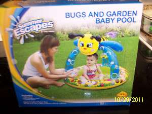 BNIB Summer Escapes Bugs And Garden Baby Pool