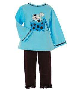 Austin & Ashley Girls Pants and Top Set  Overstock