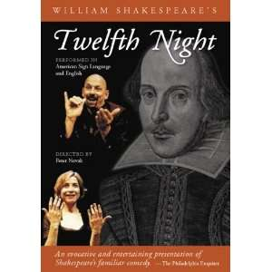 Twelfth Night DVD: Performed in American Sign Language and English